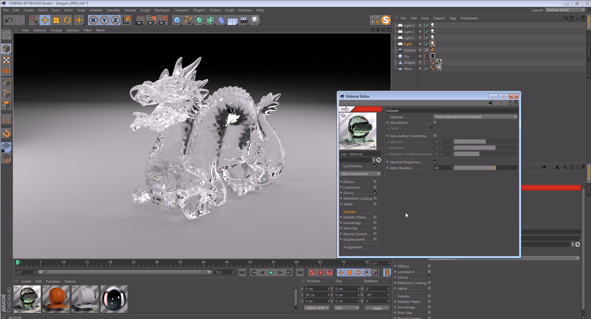 CGTalk | m4d - iray in Cinema 4D (Tutorials)